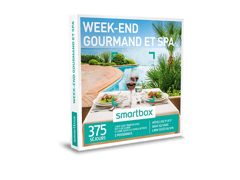 smartbox week end gourmand et spa coffret box cadeau s jour d tente et spa ebay. Black Bedroom Furniture Sets. Home Design Ideas