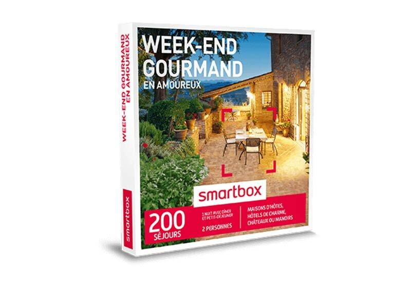smartbox week end gourmand en amoureux coffret box cadeau s jour gourmand ebay. Black Bedroom Furniture Sets. Home Design Ideas