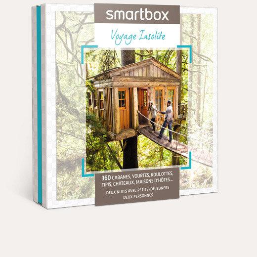 coffret cadeau voyage insolite smartbox. Black Bedroom Furniture Sets. Home Design Ideas