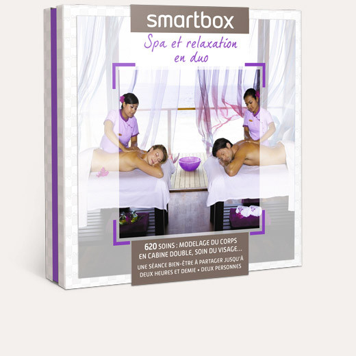 coffret cadeau spa et relaxation en duo smartbox. Black Bedroom Furniture Sets. Home Design Ideas