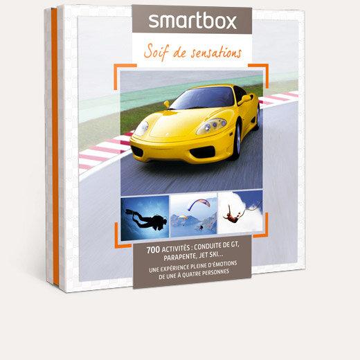 coffret cadeau soif de sensations smartbox. Black Bedroom Furniture Sets. Home Design Ideas