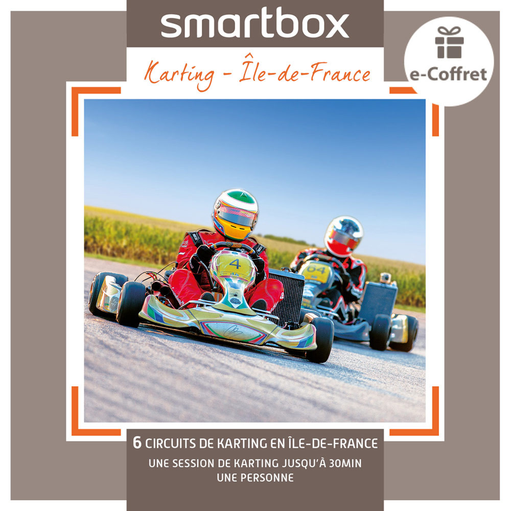 coffret cadeau karting smartbox. Black Bedroom Furniture Sets. Home Design Ideas
