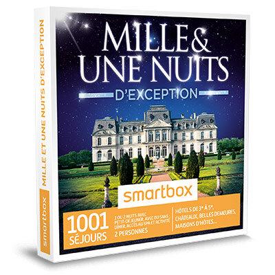 Coffret Cadeau 1001 nuits d´exception
