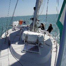 Navigation sur un voilier