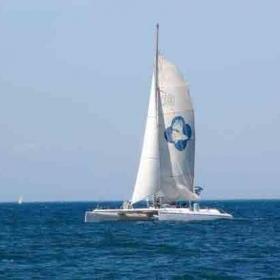 Escapade en maxi catamaran