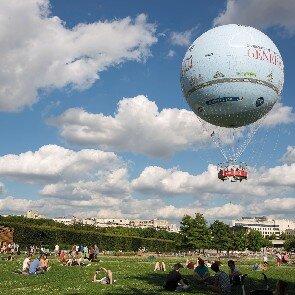 Survol en ballon