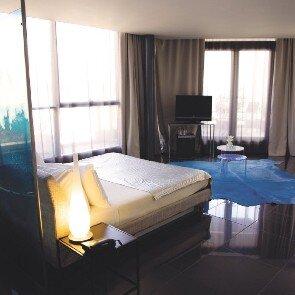 La Suite Terrasse de l'hôtel Les Bains Douches