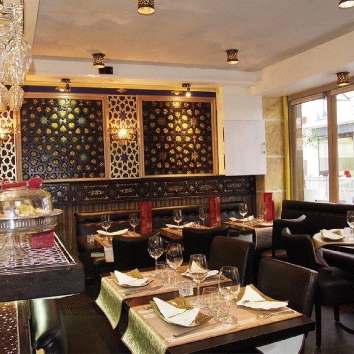 zerda caf paris 17 d ner romantique gastronomie nos smartbox. Black Bedroom Furniture Sets. Home Design Ideas