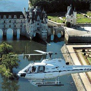 Baptême en hélicoptère