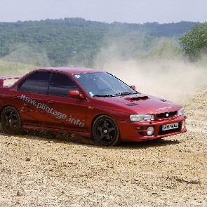 coaching rallye /  Baptême en Subaru