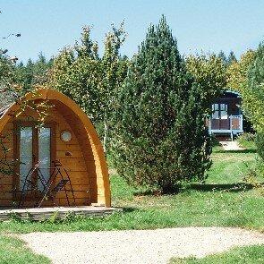 Coffret cadeau week end insolite dans une cabane smartbox - Domaine des tuileries salins ...