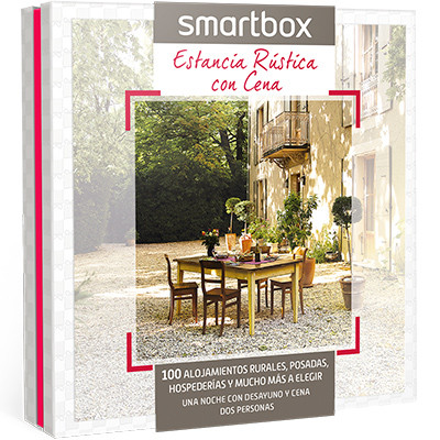 Caja Regalo SABOR RURAL LOW COST oferta hotel en Smartbox .com